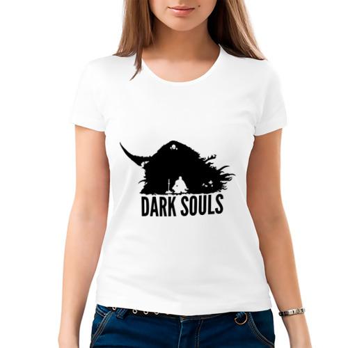 Женская футболка хлопок  Фото 03, Dark Souls