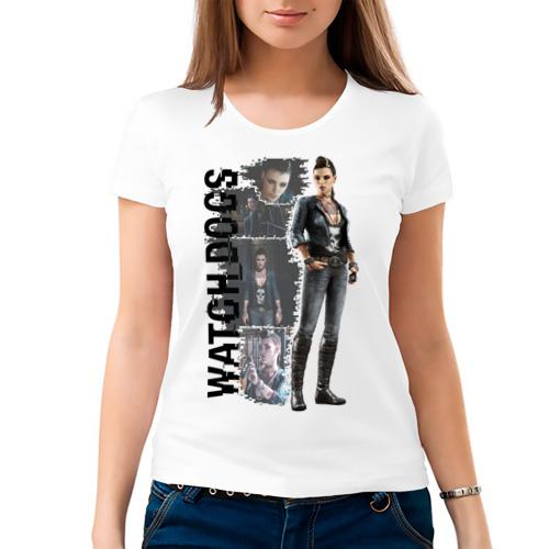 Женская футболка хлопок  Фото 03, Watch Dogs (Clara Lille)