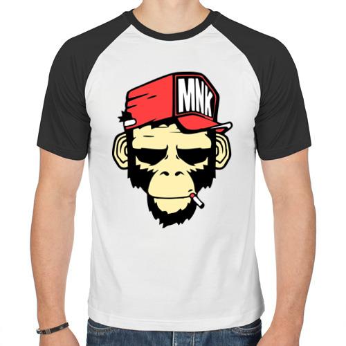 Мужская футболка реглан  Фото 01, Monkey Swag