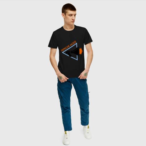 Мужская футболка хлопок Depeche mode рупор Фото 01