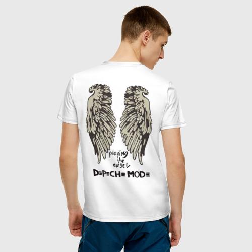 Мужская футболка хлопок DM playing the angel Фото 01