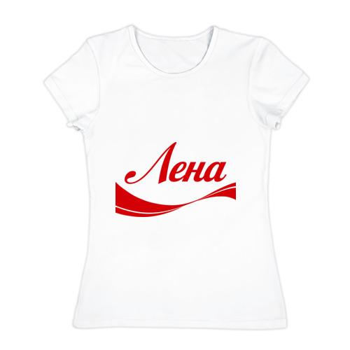 Женская футболка хлопок Лена