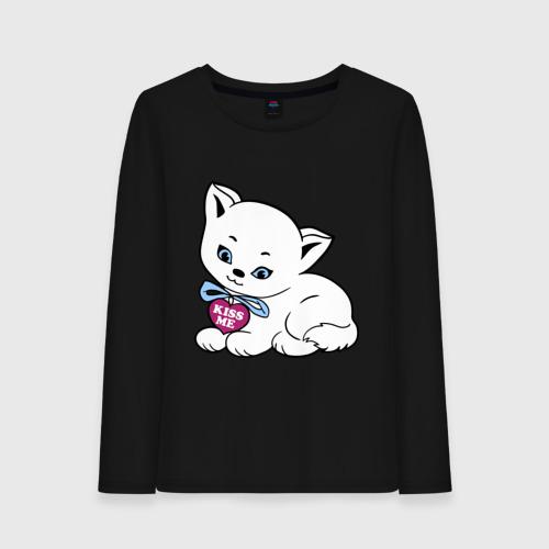 Белая кошечка