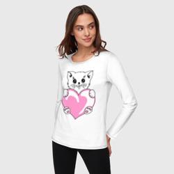 Котеночек с сердечком