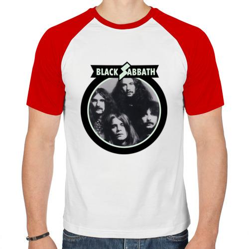 Мужская футболка реглан  Фото 01, Black Sabbath