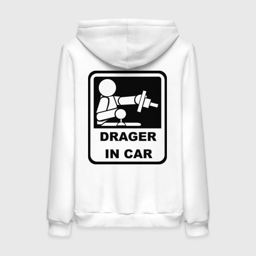 Женская толстовка хлопок  Фото 02, Drager in car