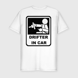 Drifter in car