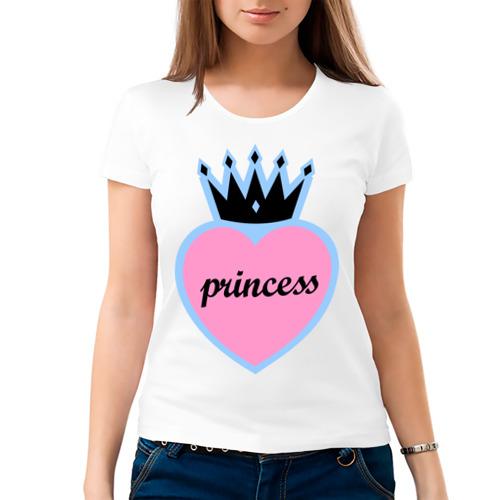 Женская футболка хлопок Princess