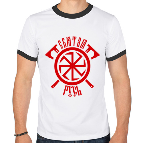 Мужская футболка рингер Коловрат с топорами