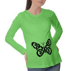 Бабочка из кельтского узора