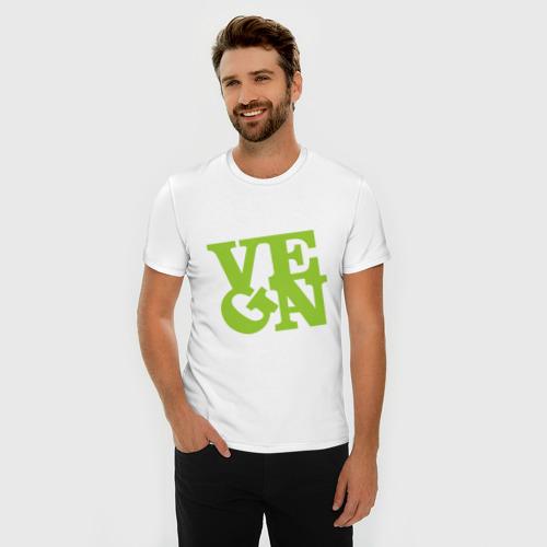 Мужская футболка премиум  Фото 03, Vegan
