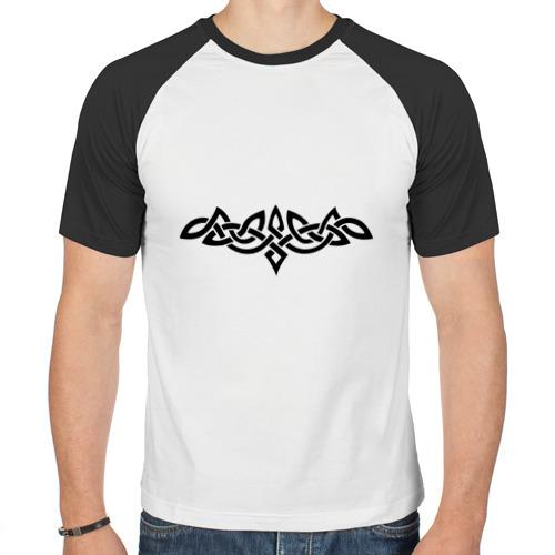 Мужская футболка реглан  Фото 01, Кельтский узор