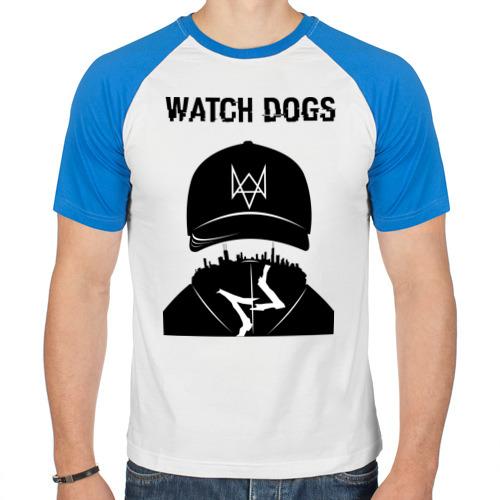 Мужская футболка реглан  Фото 01, You will be Hacker