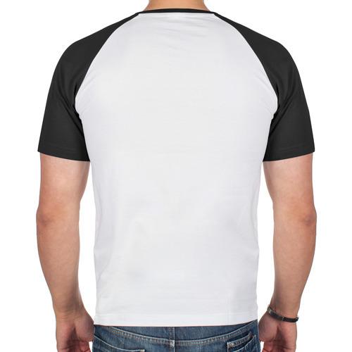 Мужская футболка реглан  Фото 02, Воющий волк