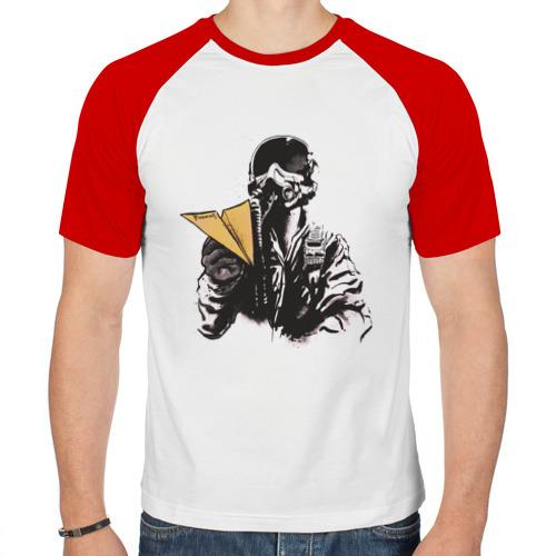 Мужская футболка реглан  Фото 01, Пилот