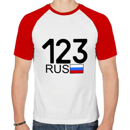Мужская футболка реглан  Фото 01, Краснодарский край - 123