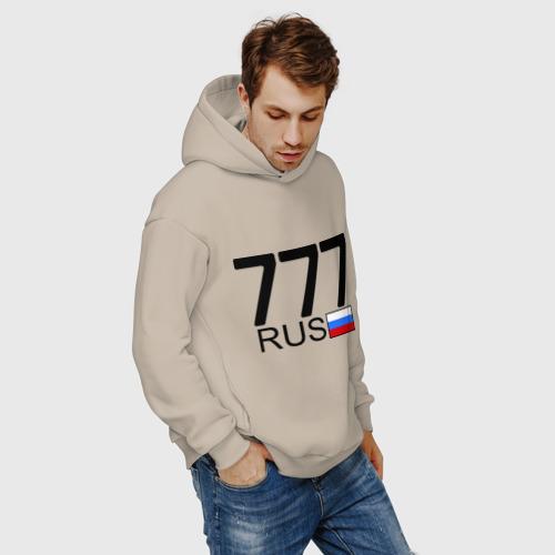 Мужское худи Oversize хлопок Москва - 777 Фото 01