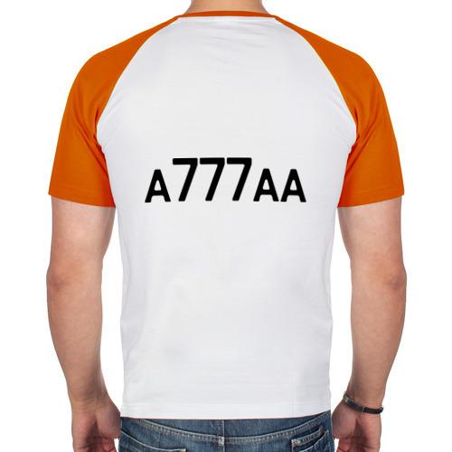 Мужская футболка реглан  Фото 02, Москва - 777