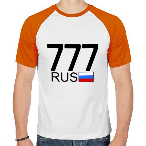 Мужская футболка реглан  Фото 01, Москва - 777