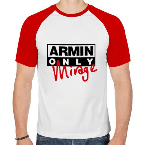 Мужская футболка реглан  Фото 01, Armin only - mirage