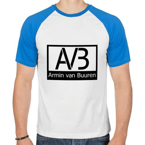 Мужская футболка реглан  Фото 01, Armin van buuren logo
