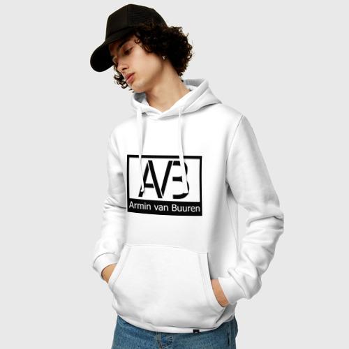 Мужская толстовка хлопок  Фото 03, Armin van buuren logo