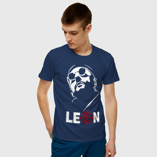 Мужская футболка хлопок Leon Фото 01