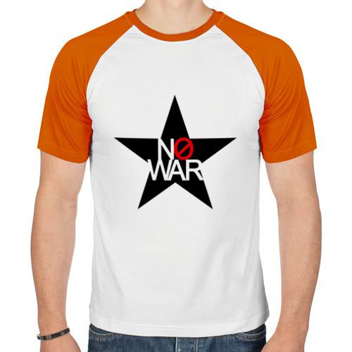 Мужская футболка реглан  Фото 01, No war