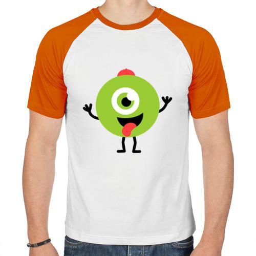 Мужская футболка реглан  Фото 01, Колобок парень