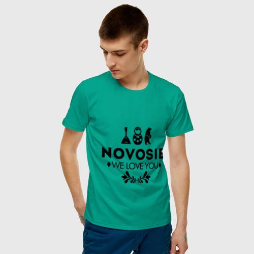 Мужская футболка хлопок Novosib Фото 01