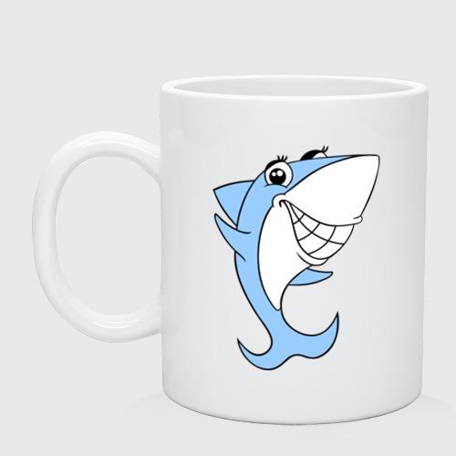 Кружка Акула девочка