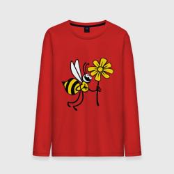 Пчела с цветочком