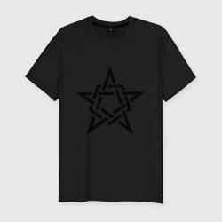 Звезда в стиле кельтских узоров