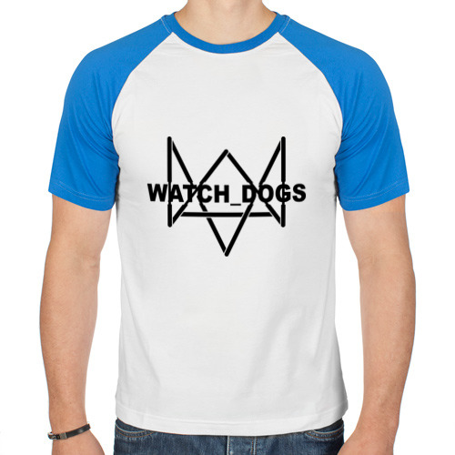 Мужская футболка реглан  Фото 01, Watch_Dogs