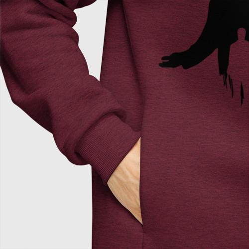 Мужское худи Oversize хлопок True Detective Фото 01