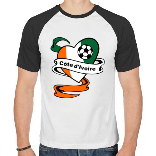 Мужская футболка реглан  Фото 01, Сборная Кот-д'Ивуара по Футболу