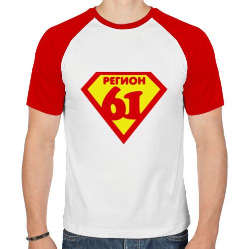 Мужская футболка реглан  Фото 01, 61 регион