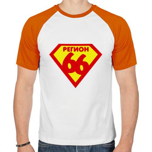 Мужская футболка реглан  Фото 01, 66 РЕГИОН