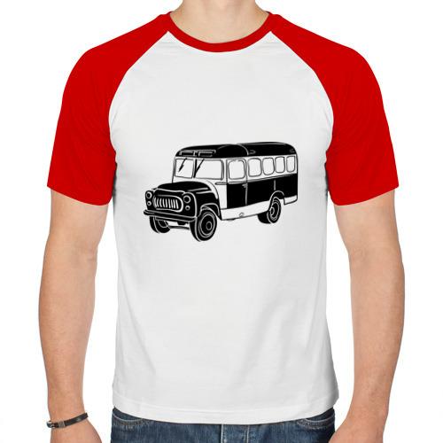 Мужская футболка реглан  Фото 01, Автобус
