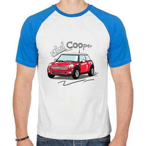 Мужская футболка реглан  Фото 01, Mini Cooper