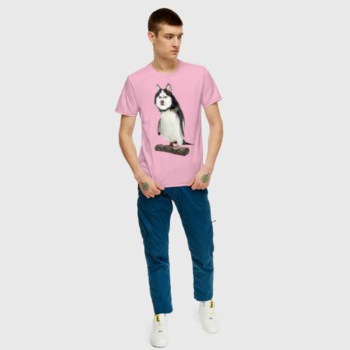 Мужская футболка хлопок Хаскогвин Фото 01
