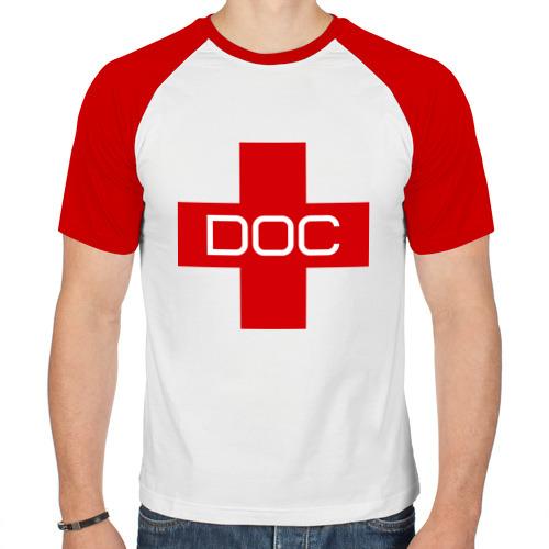 Мужская футболка реглан  Фото 01, Доктор