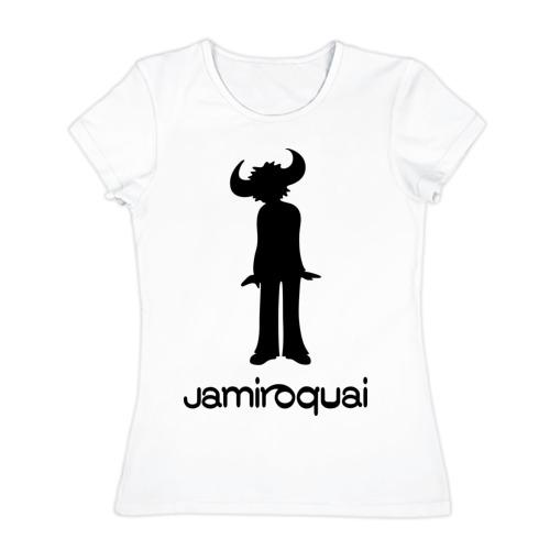 Женская футболка хлопок  Фото 01, Jamiroquai