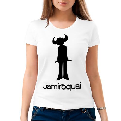 Женская футболка хлопок  Фото 03, Jamiroquai
