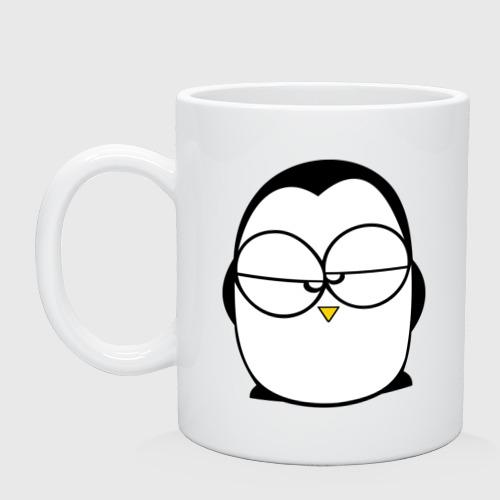 Недовольный пингвин