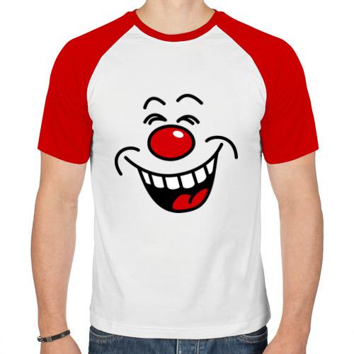 Мужская футболка реглан  Фото 01, Клоун