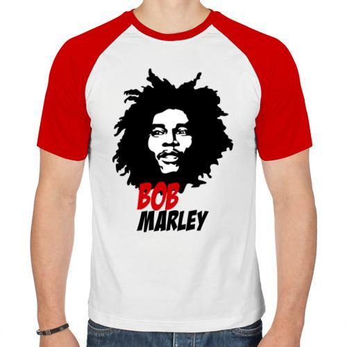 Мужская футболка реглан  Фото 01, Bob Marley