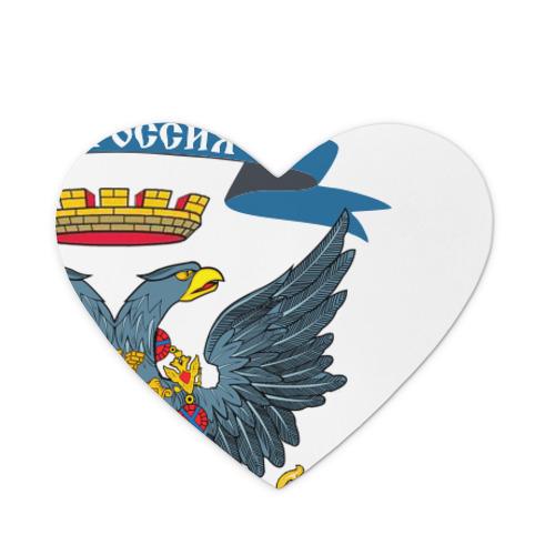 Коврик сердце  Фото 01, Герб Новоросии