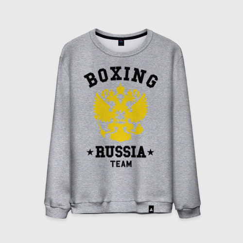 Мужской свитшот хлопок  Фото 01, Boxing Russia Team