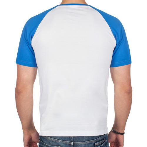 Мужская футболка реглан  Фото 02, Кол в груди
